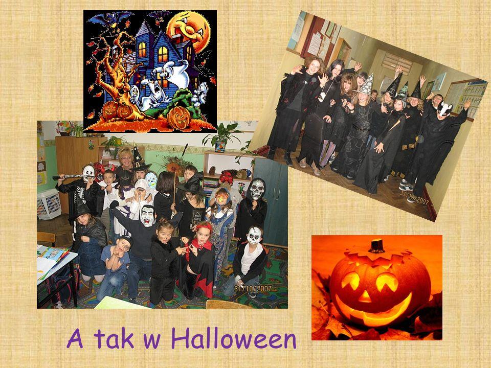 A tak w Halloween