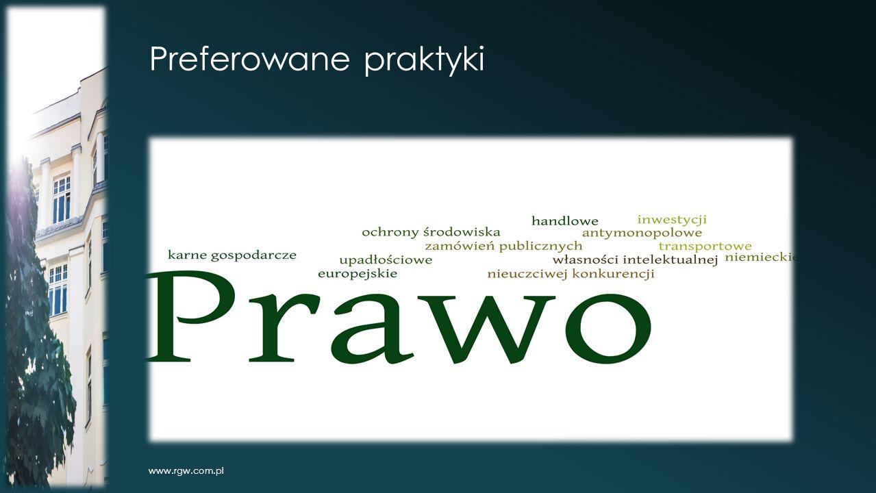 Preferowane praktyki www.rgw.com.pl