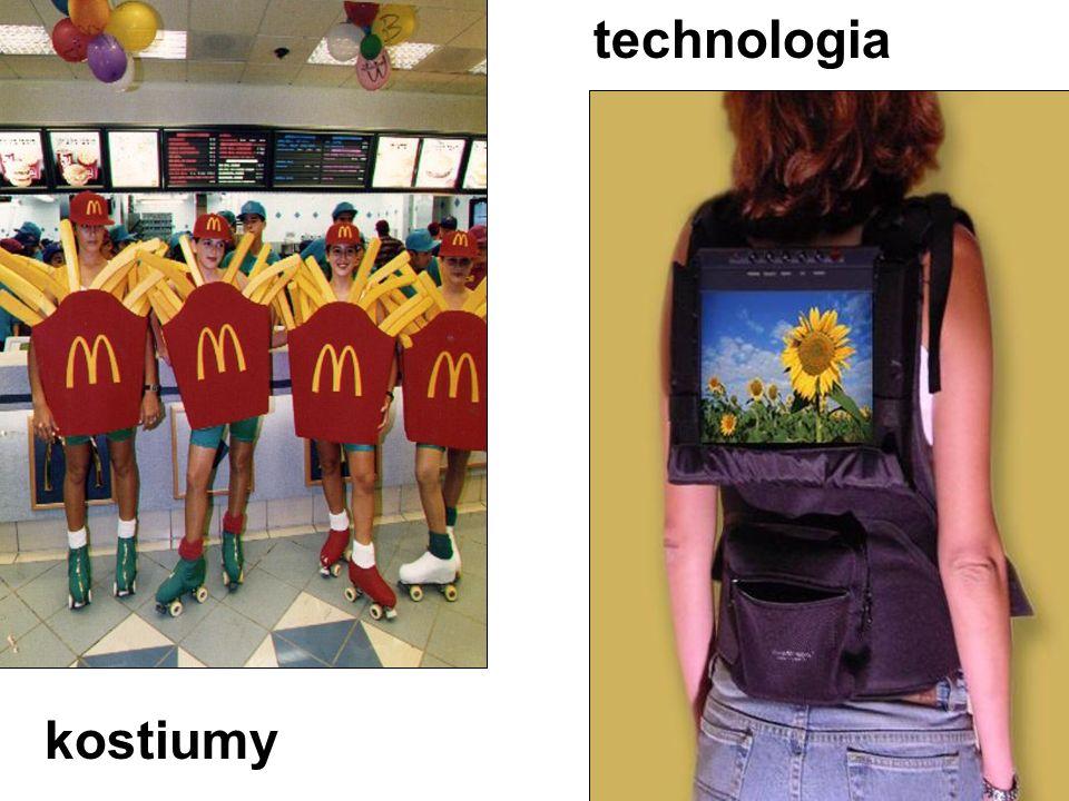 kostiumy technologia