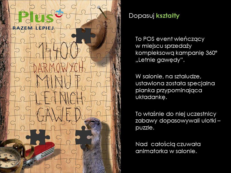 """To POS event wieńczący w miejscu sprzedaży kompleksową kampanię 360º """"Letnie gawędy ."""