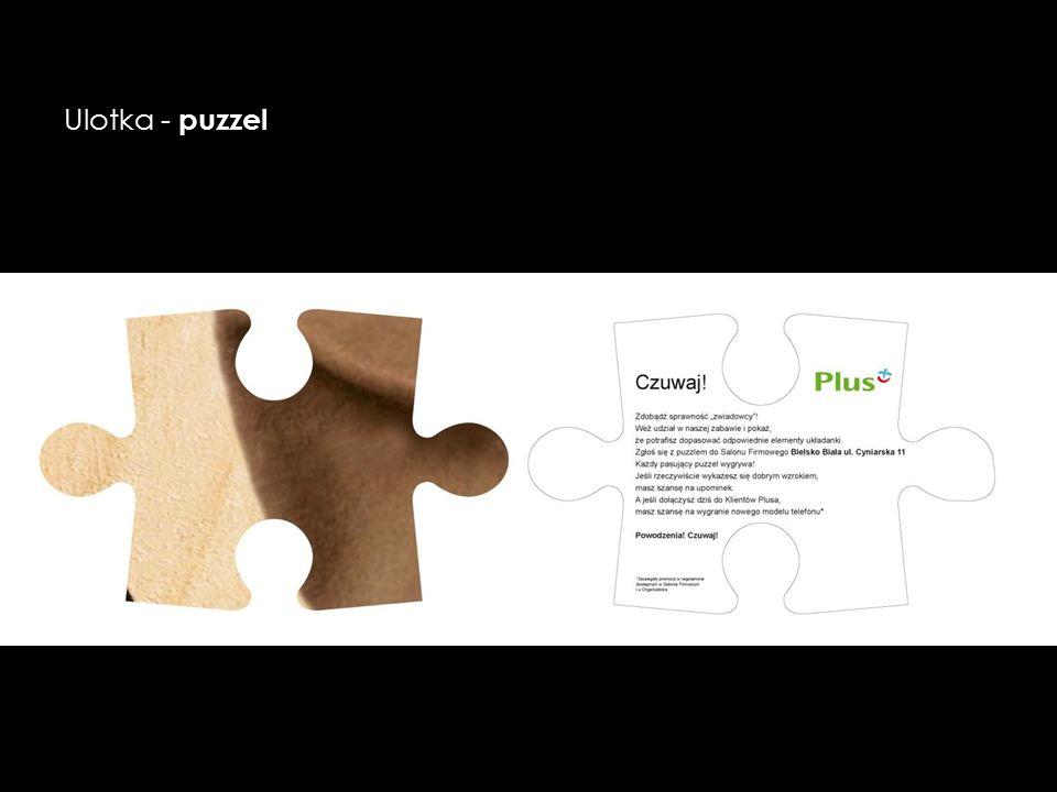 Ulotka - puzzel