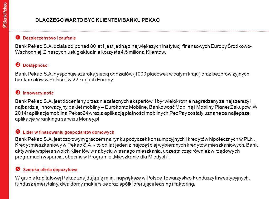 2 Specjalnie dla Państwa Pracowników przygotowaliśmy kompleksową ofertę składającą się z najlepszych produktów Banku Pekao S.A.: OFERTA SPECJALNA ZAPRASZAMY DO WSPÓŁPRACY NA WYJĄTKOWYCH ZASADACH EUROKONTO MOBILNE ROZWIĄZANIA MOBILNE POŻYCZKA EKSPRESOWA KREDYT MIESZKANIOWY DORADZTWO PREMIUM