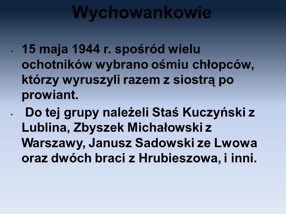 Wychowankowie 15 maja 1944 r.