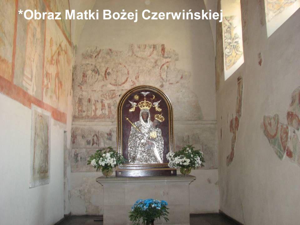 *Obraz Matki Bożej Czerwińskiej