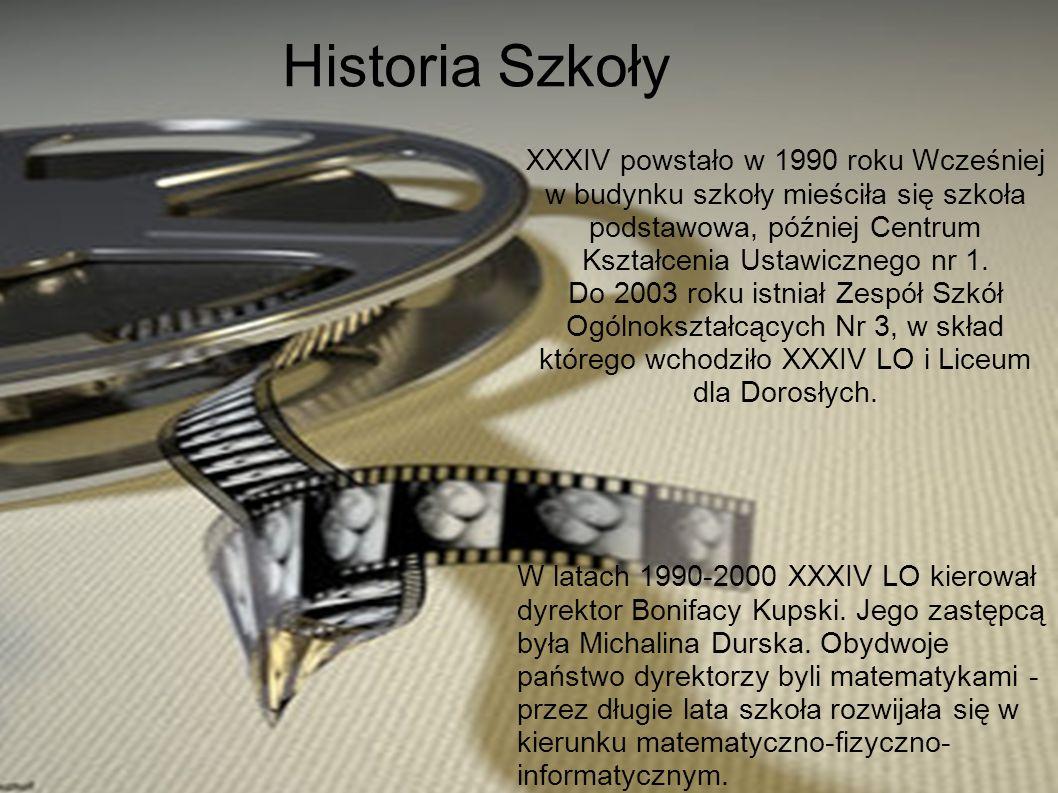Szkoła ma stałą współpracę z PWSFTViT imienia L.Schillera w Łodzi.