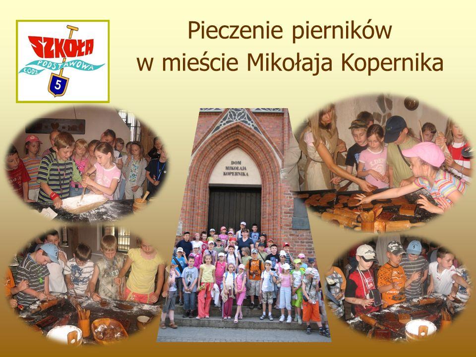 Pieczenie pierników w mieście Mikołaja Kopernika