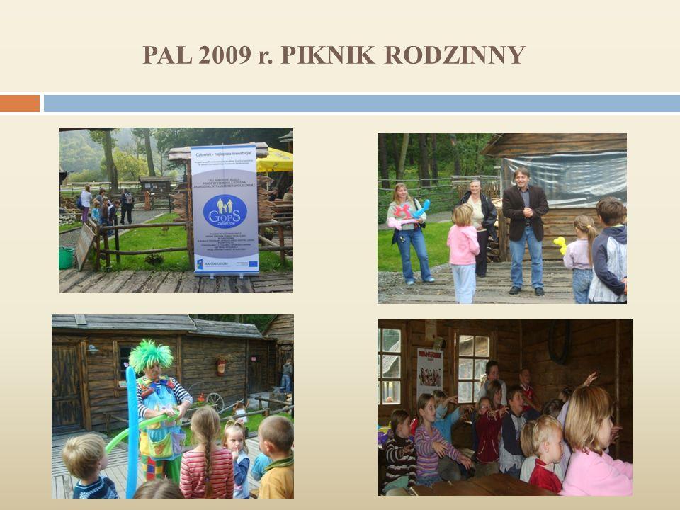 PAL 2009 r. PIKNIK RODZINNY