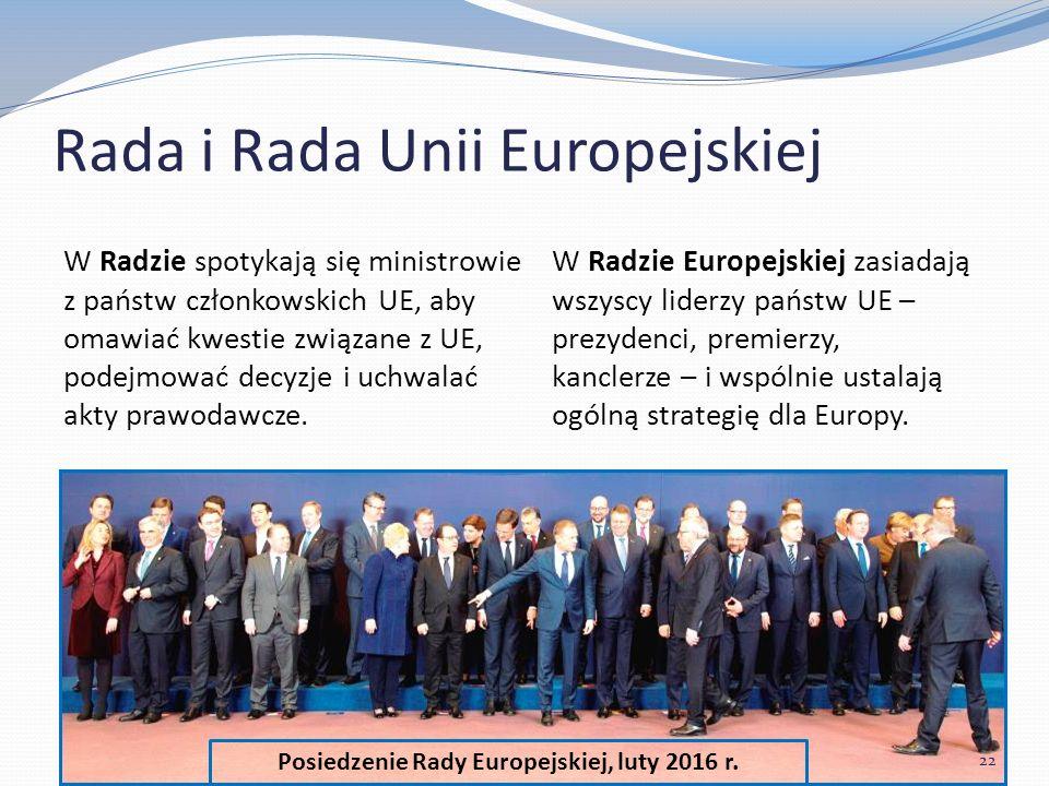 Posiedzenie Rady Europejskiej, luty 2016 r.