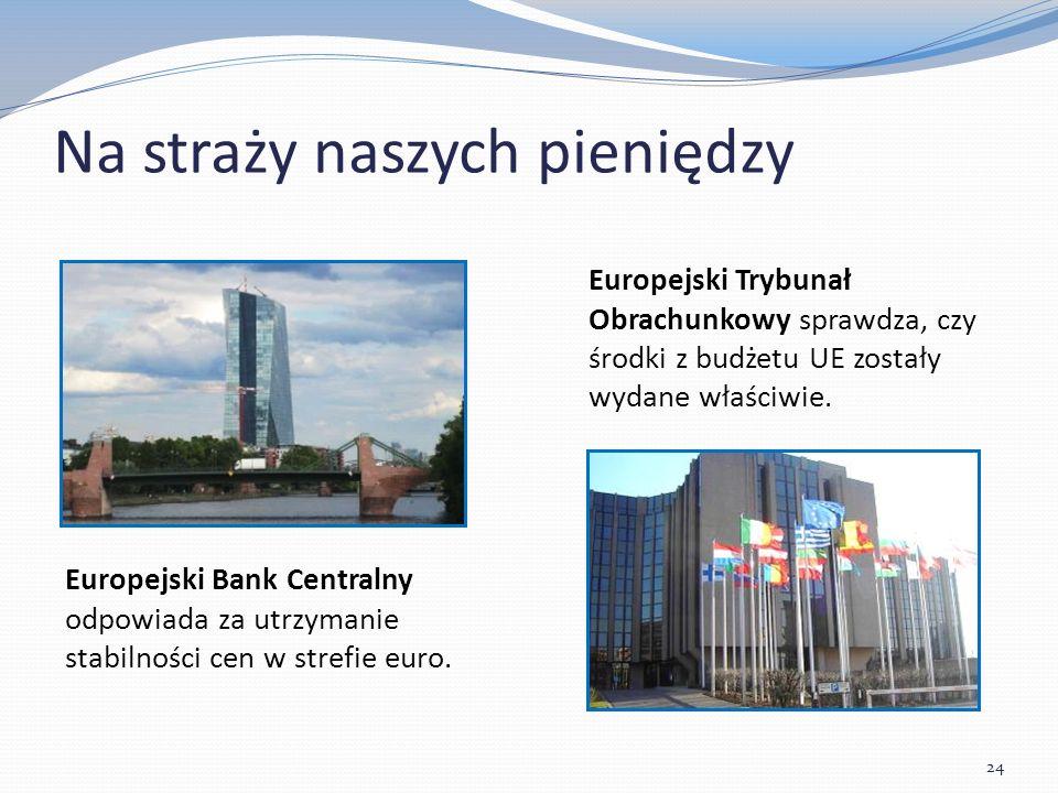 Na straży naszych pieniędzy Europejski Bank Centralny odpowiada za utrzymanie stabilności cen w strefie euro.