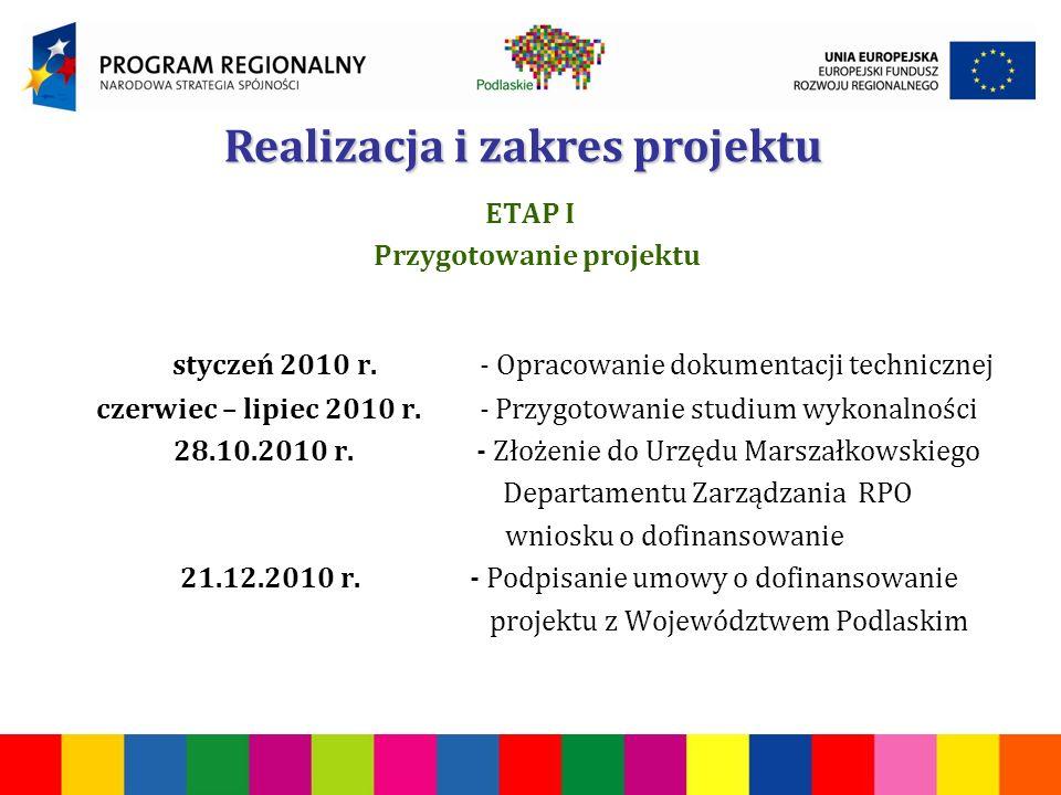 ETAP I Przygotowanie projektu styczeń 2010 r.