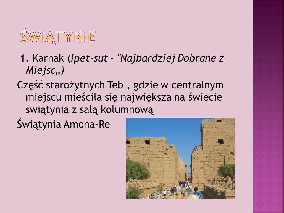 1. Karnak (Ipet-sut -