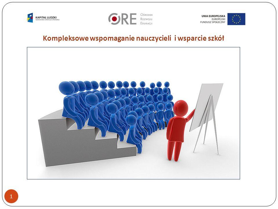 Kompleksowe wspomaganie nauczycieli i wsparcie szkół 1
