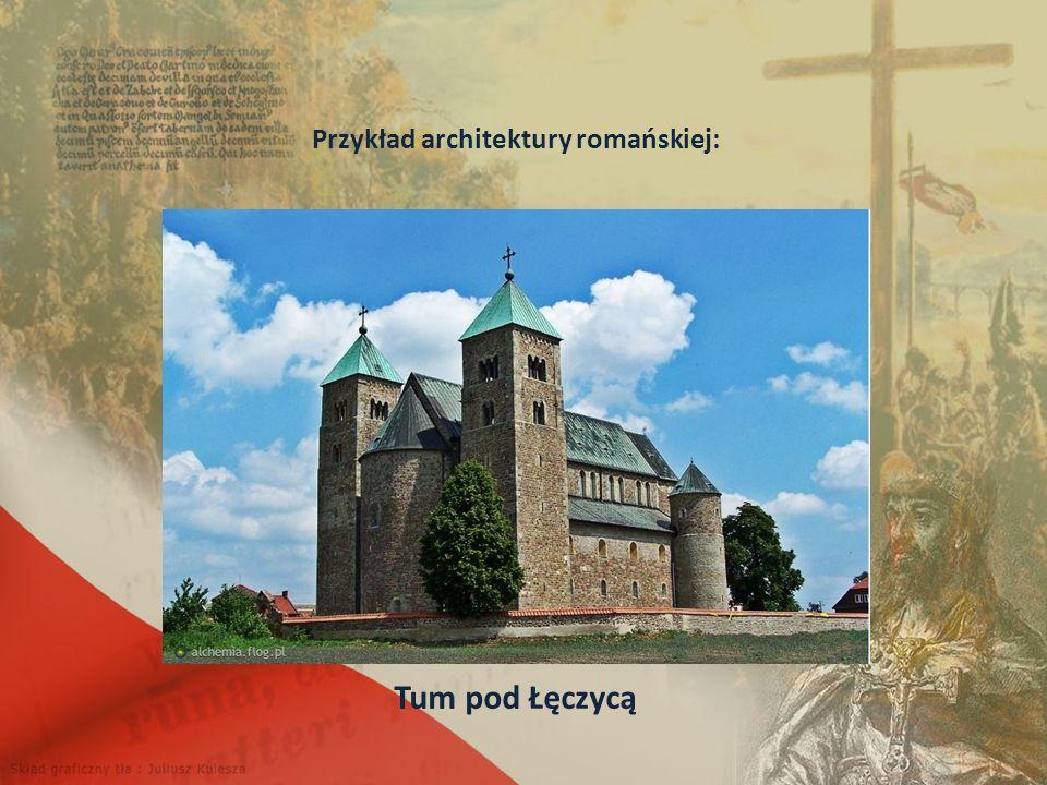 Przykład architektury romańskiej: Tum pod Łęczycą