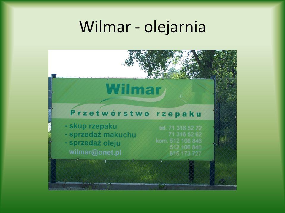 Wilmar - olejarnia