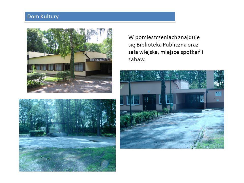 Dom Kultury W pomieszczeniach znajduje się Biblioteka Publiczna oraz sala wiejska, miejsce spotkań i zabaw.