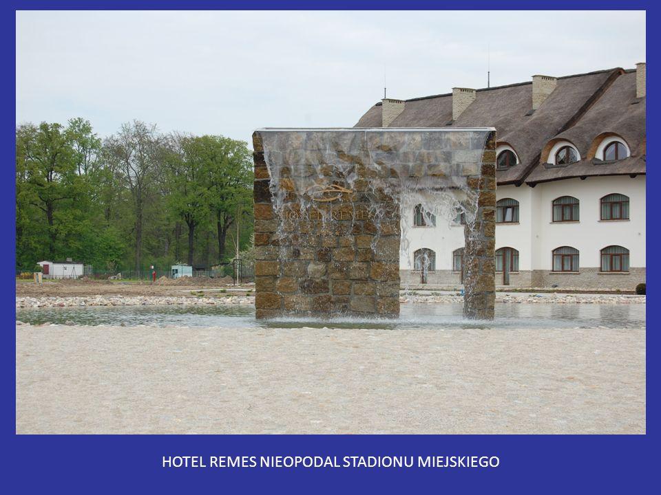 HOTEL REMES NIEOPODAL STADIONU MIEJSKIEGO