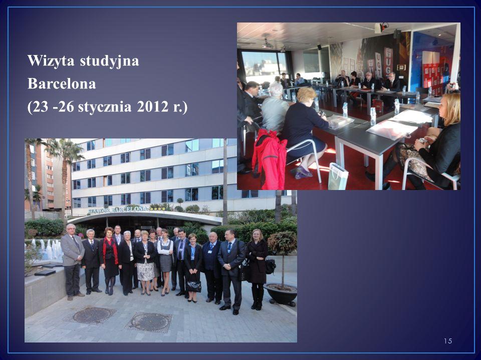 Wizyta studyjna Barcelona (23 -26 stycznia 2012 r.) 15