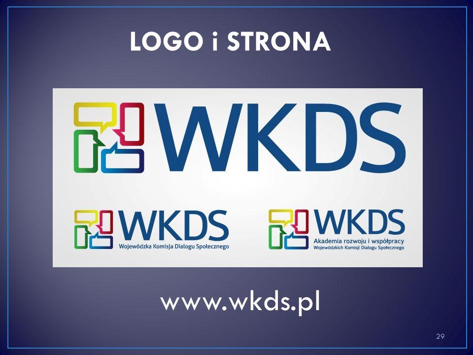 www.wkds.pl 29 LOGO i STRONA