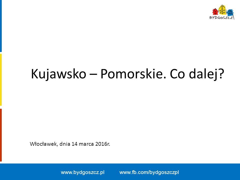 Kujawsko – Pomorskie.Co dalej.