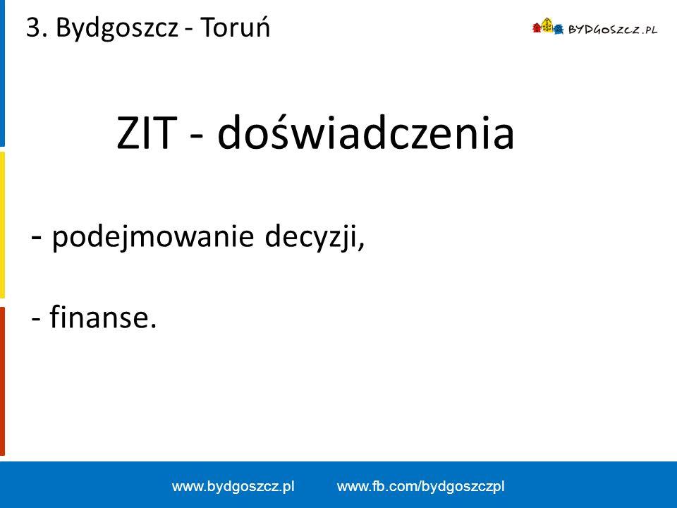 www.bydgoszcz.pl www.fb.com/bydgoszczpl ZIT - doświadczenia 3.