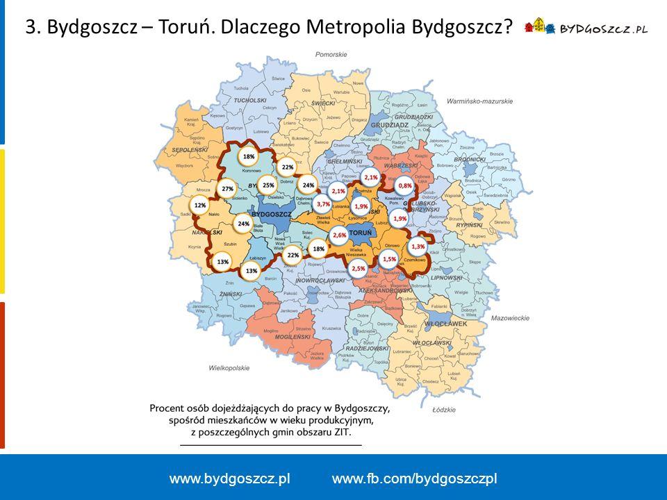 www.bydgoszcz.pl www.fb.com/bydgoszczpl 3. Bydgoszcz – Toruń. Dlaczego Metropolia Bydgoszcz?