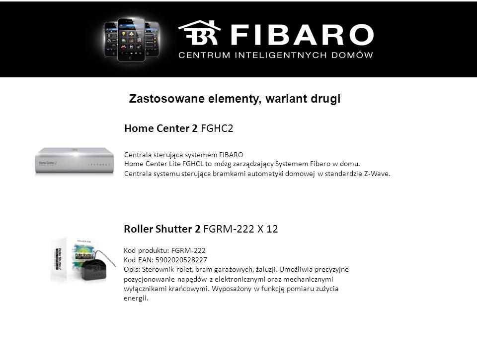 Zastosowane elementy, wariant drugi Roller Shutter 2 FGRM-222 X 12 Kod produktu: FGRM-222 Kod EAN: 5902020528227 Opis: Sterownik rolet, bram garażowych, żaluzji.