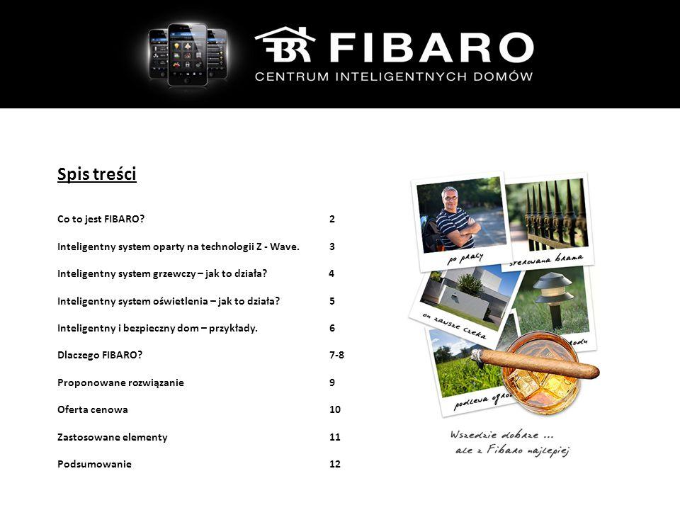 Spis treści Co to jest FIBARO 2 Inteligentny system oparty na technologii Z - Wave.3 Inteligentny system grzewczy – jak to działa.