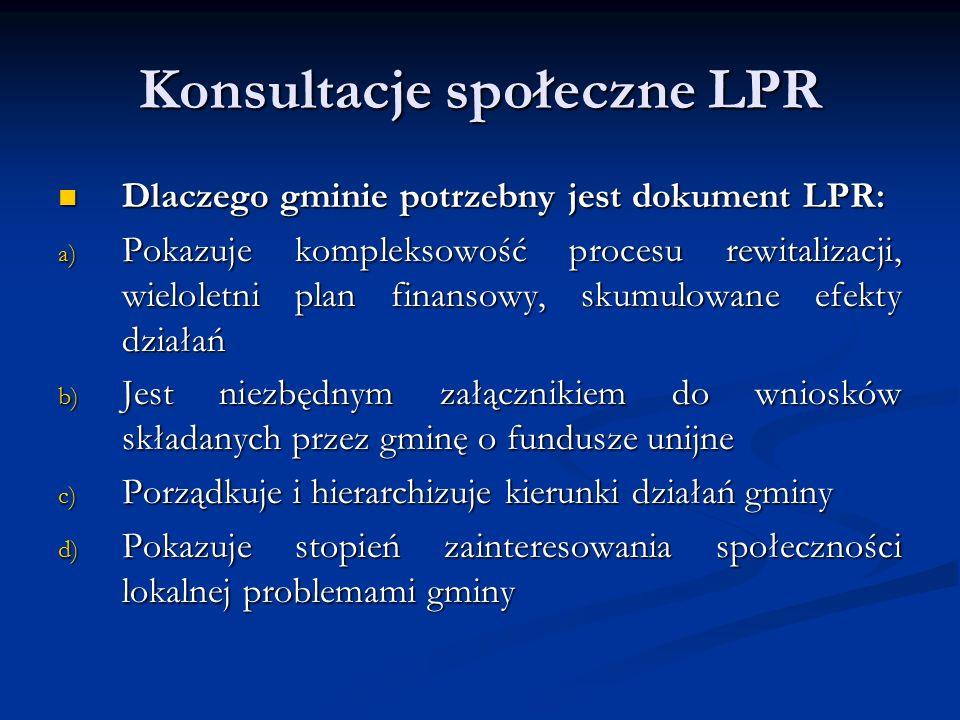 Konsultacje społeczne LPR W najbliższych dniach planowane jest stworzenie zakładki na stronie internetowej Urzędu Miejskiego www.libiaz.pl pn: Rewitalizacja W najbliższych dniach planowane jest stworzenie zakładki na stronie internetowej Urzędu Miejskiego www.libiaz.pl pn: Rewitalizacja www.libiaz.pl Ankiety dotyczące potencjalnych projektów będą do pobrania w tejże zakładce.