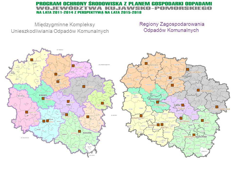 Międzygminne Kompleksy Unieszkodliwiania Odpadów Komunalnych Regiony Zagospodarowania Odpadów Komunalnych
