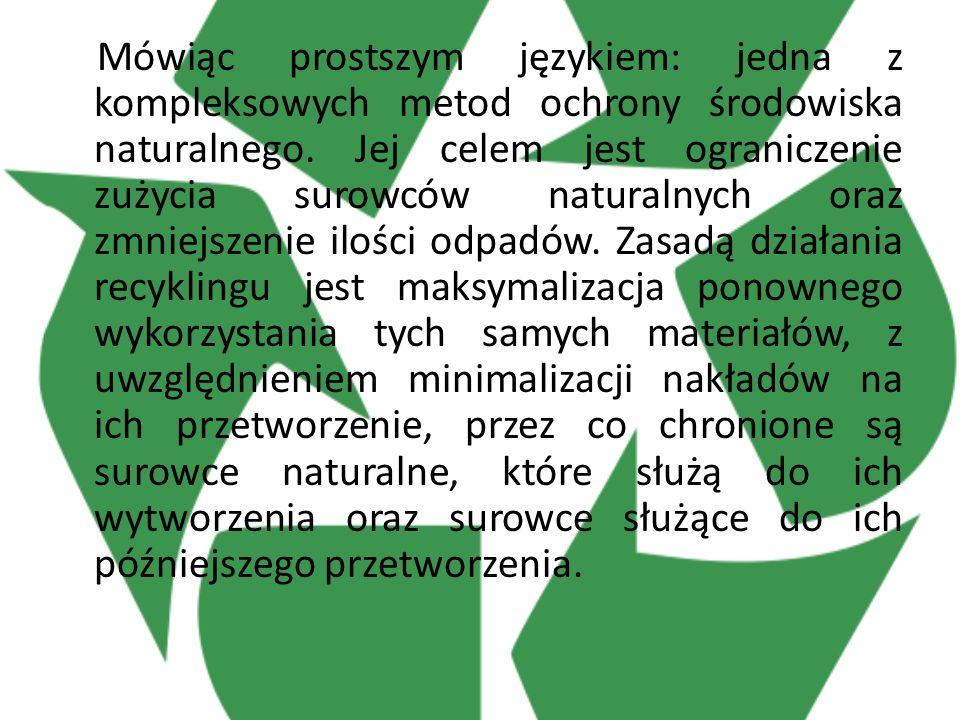 Mówiąc prostszym językiem: jedna z kompleksowych metod ochrony środowiska naturalnego.
