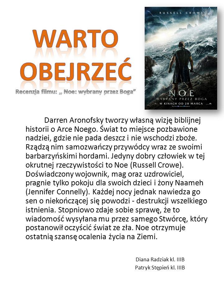Darren Aronofsky tworzy własną wizję biblijnej historii o Arce Noego.