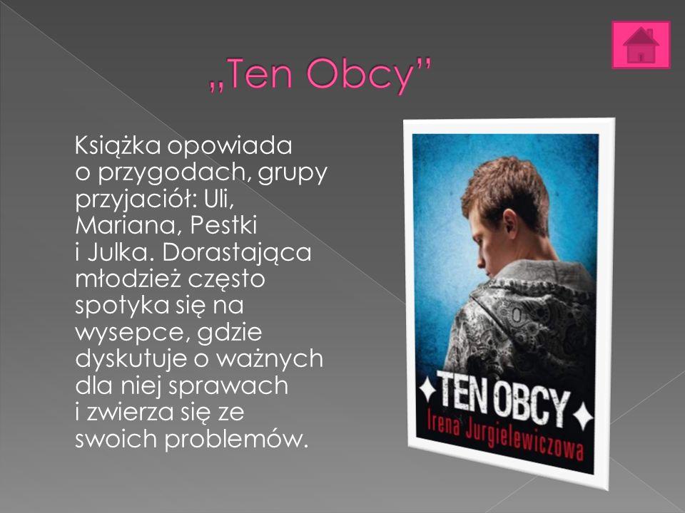 Książka opowiada o przygodach, grupy przyjaciół: Uli, Mariana, Pestki i Julka.