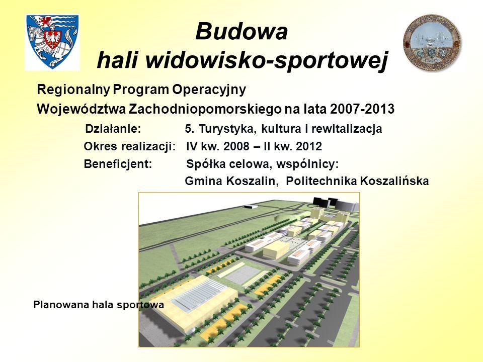 Regionalny Program Operacyjny Województwa Zachodniopomorskiego na lata 2007-2013 Działanie: 5.