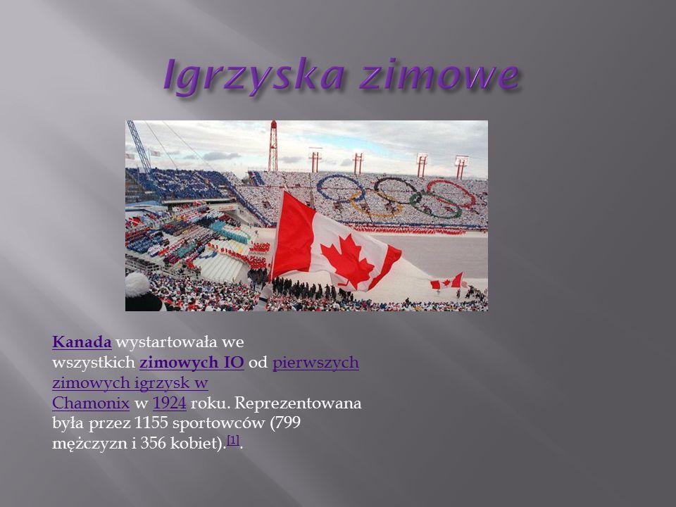 Kanada Kanada wystartowała we wszystkich zimowych IO od pierwszych zimowych igrzysk w Chamonix w 1924 roku.