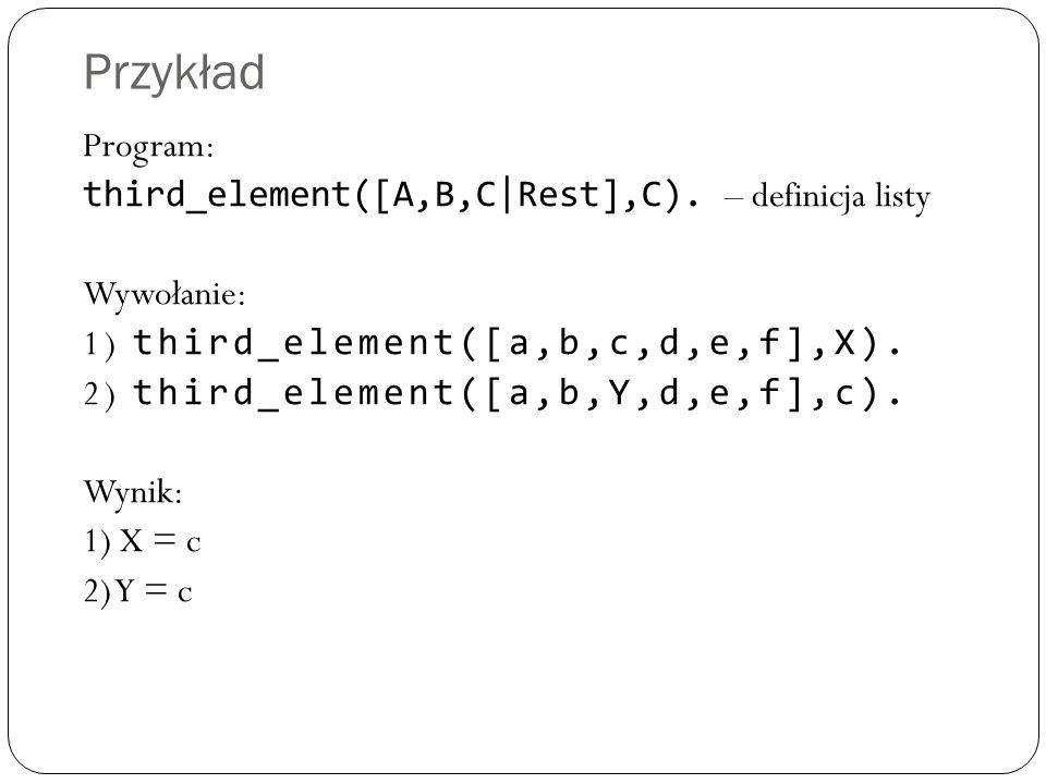 Rekurencyjne odwracanie listy 1.Podziel oryginaln ą list ę na head(głow ę ) i tail(ogon).
