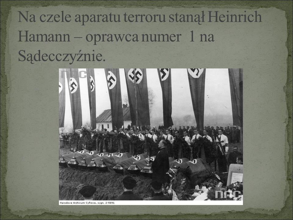 """Już w październiku 1939 r.w Nawojowej powstała Placówka Amii Krajowej - """"Narcyz ."""