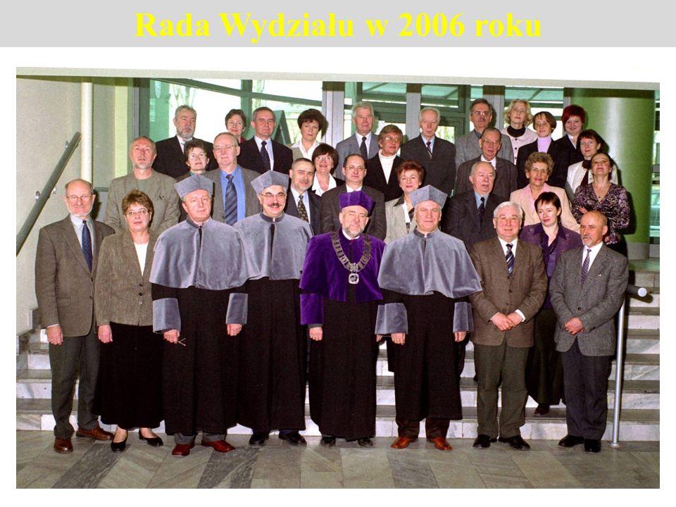 Rada Wydziału w 2006 roku