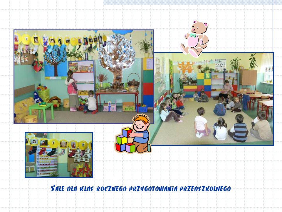 Sale dla klas rocznego przygotowania przedszkolnego
