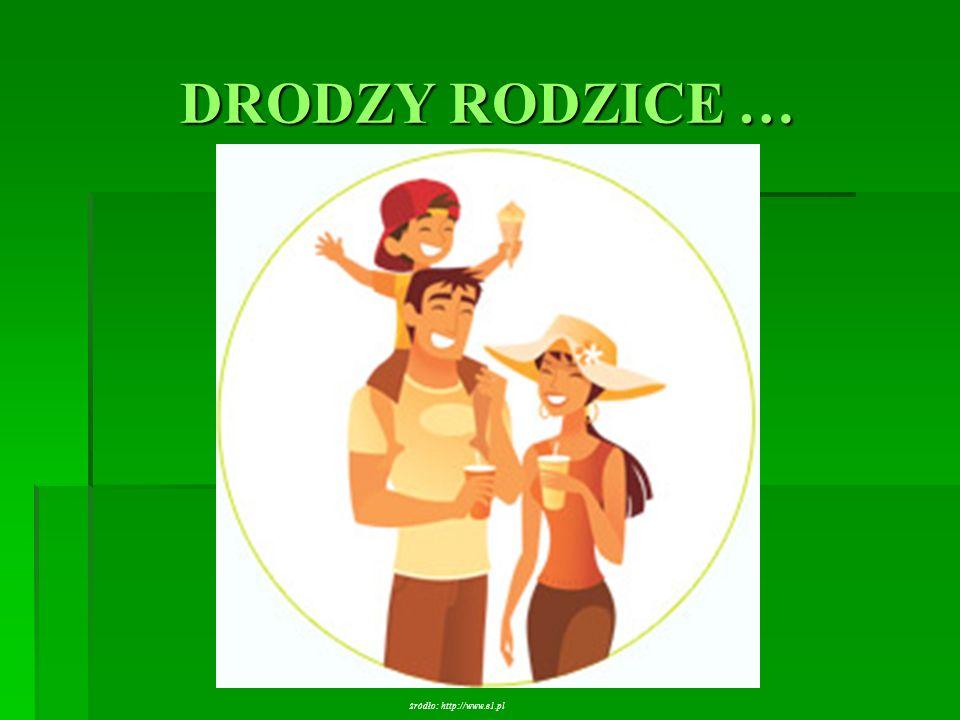 DRODZY RODZICE … źródło: http://www.e1.pl