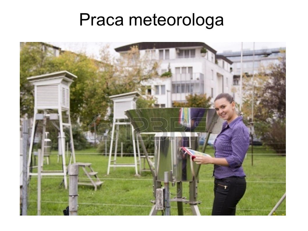 Praca meteorologa
