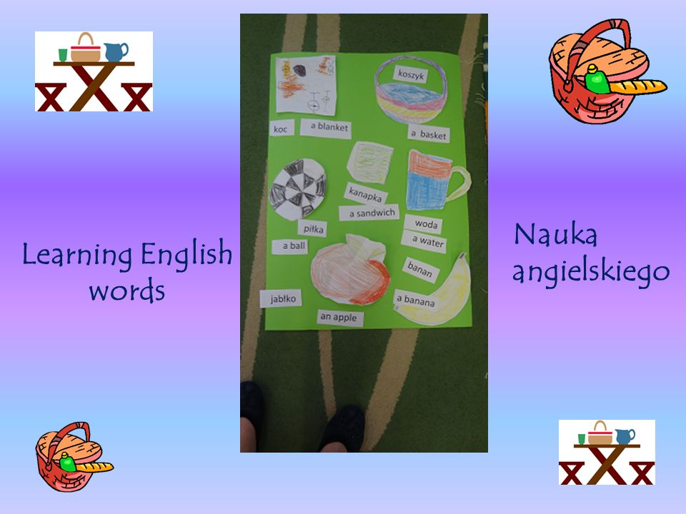 Learning English words Nauka angielskiego