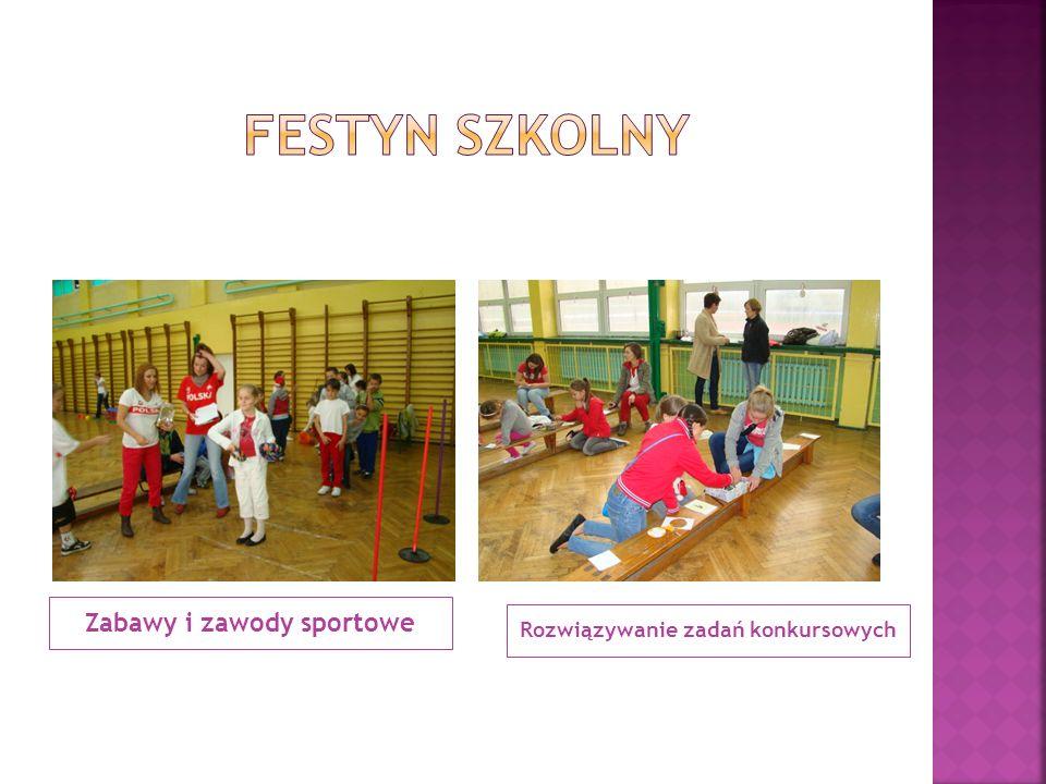 Zabawy i zawody sportowe Rozwiązywanie zadań konkursowych