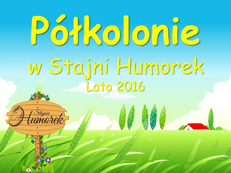 Półkolonie w Stajni Humorek Lato 2016