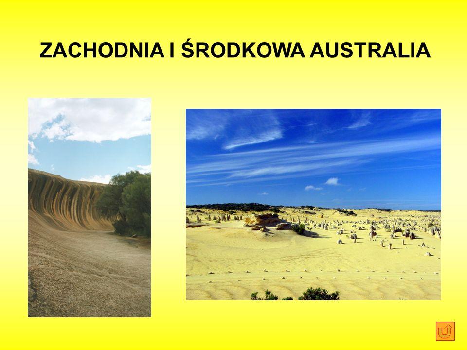 ZACHODNIA I ŚRODKOWA AUSTRALIA