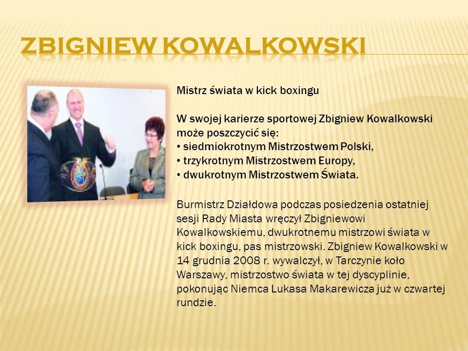 Mistrz świata w kick boxingu W swojej karierze sportowej Zbigniew Kowalkowski może poszczycić się: siedmiokrotnym Mistrzostwem Polski, trzykrotnym Mis