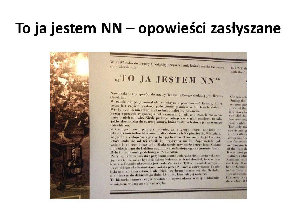 To ja jestem NN – opowieści zasłyszane