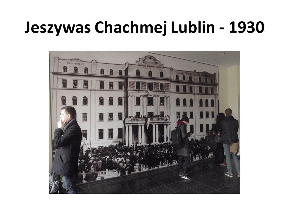 Jeszywas Chachmej Lublin - 1930