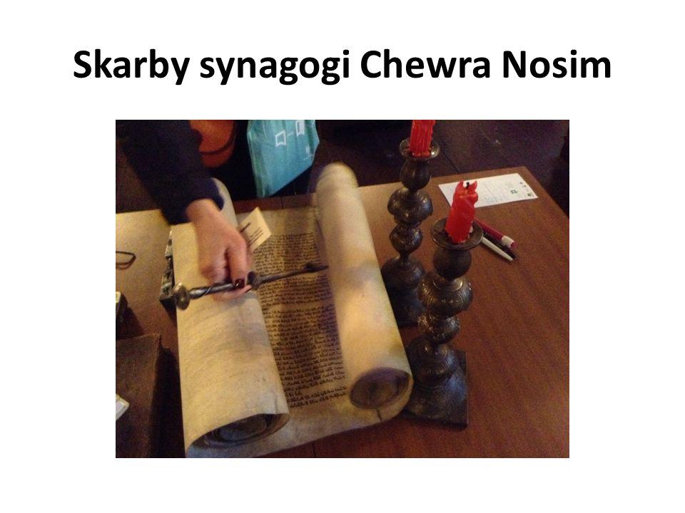 Skarby synagogi Chewra Nosim
