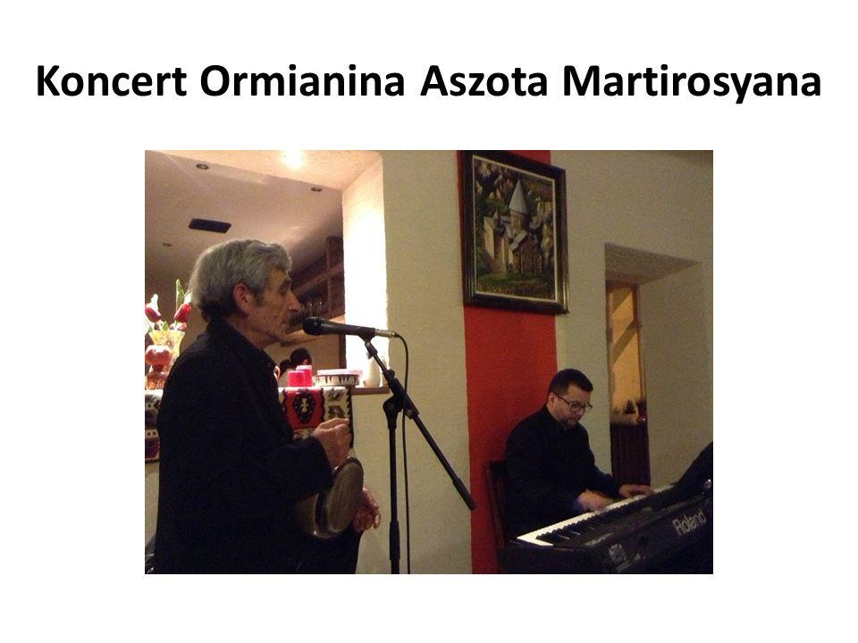 Koncert Ormianina Aszota Martirosyana