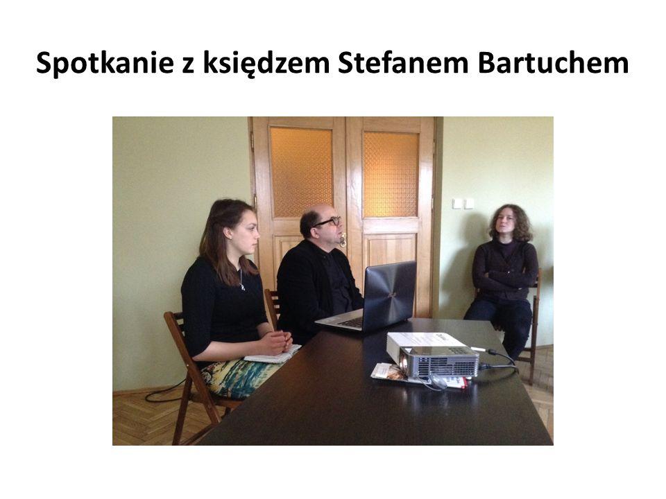 Spotkanie z księdzem Stefanem Bartuchem